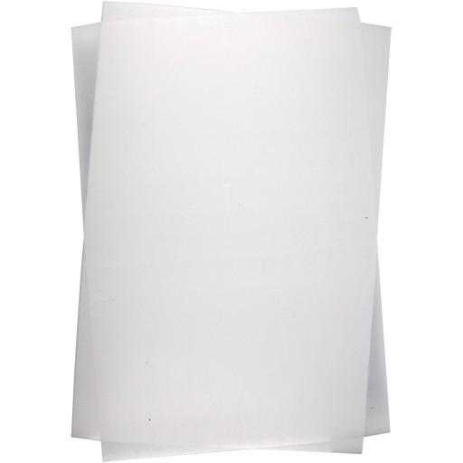 Folia termokurczliwa 30x20cm przezroczysta matowa