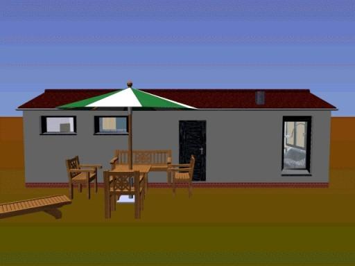 Dom Domek Altana Bez Pozw 35m2 15000 Opis Budowy