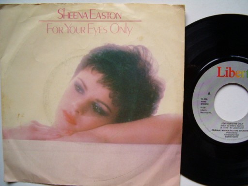 SHEENA EASTON - FOR YOU EYES ONLY