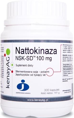 NATTOKINAZA NSK-SD 300KAPS 100MG 2000FU KENAY