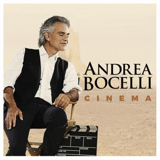 ANDREA BOCELLI Cinema PL CD