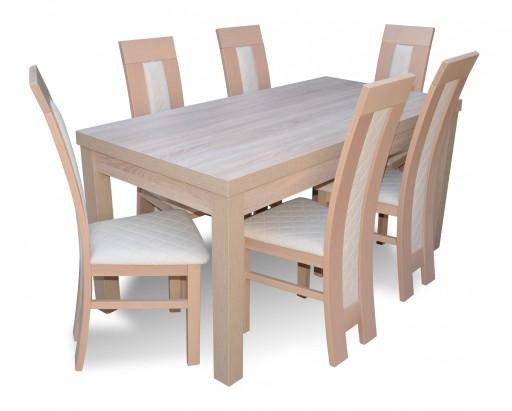 TANIO Stół +6 krzeseł salon Krzesła stoły Łukpol !