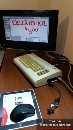 Adapter mysz myszka joystick pad psx Amiga TOM R2!