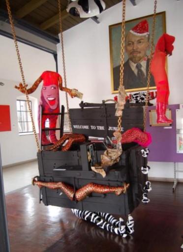 Instalacja artystyczna Skrzynia