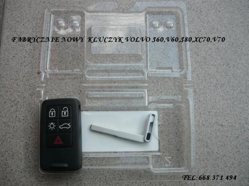KLUCZYK VOLVO S60,V60,XC60 08-15R