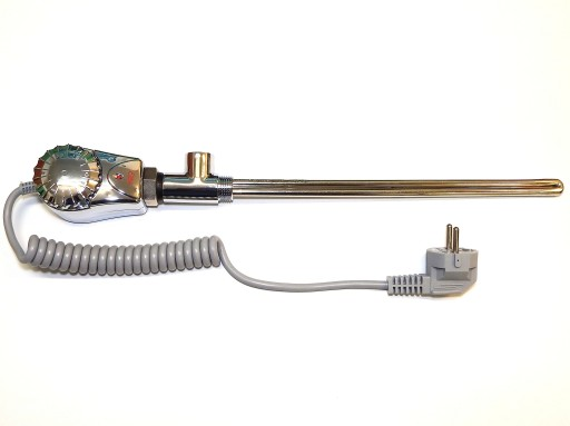 Grzałka do grzejnika łazienkowego 900W 1/2 chrom