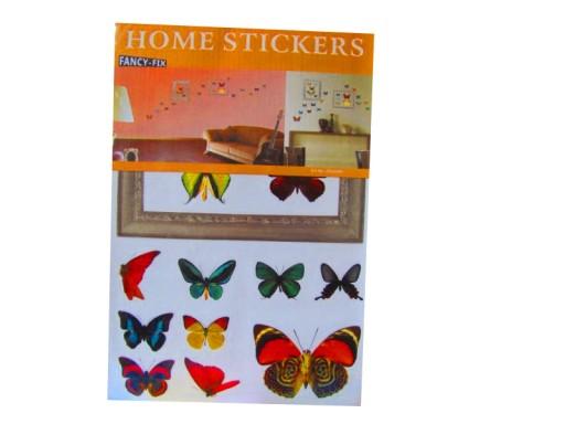 Naklejki Dekoracyjne Ramka Motyle Motyl Na ścianę
