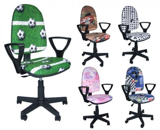 Krzesło Fotel Do Biurka Szkolne Młodzieżowe 7583062317 Allegropl
