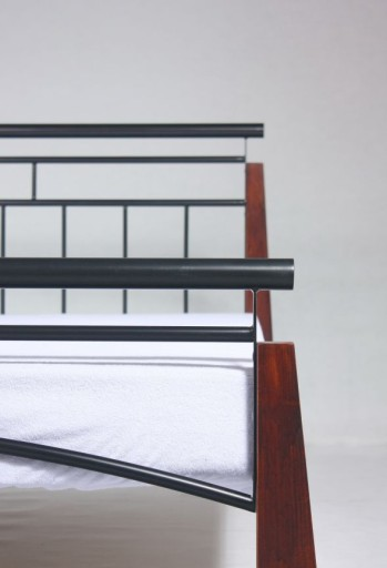 Łóżko metalowe kute 160x200 Producent