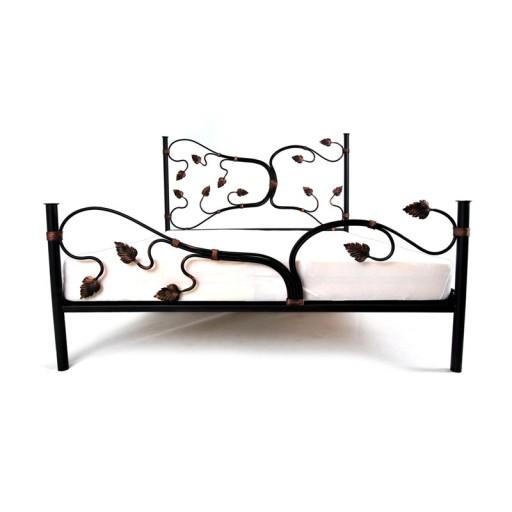 Łóżko metalowe kute 160x200 LIANA Producent