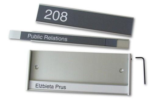 Chwalebne Tabliczka przydrzwiowa RHYTHM tabliczki na drzwi 6742708222 TA43