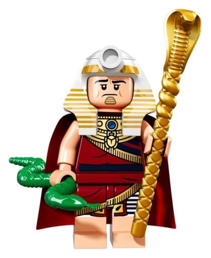 LEGO MINIFIGURES THE BATMAN MOVIE KING TUT KRÓL