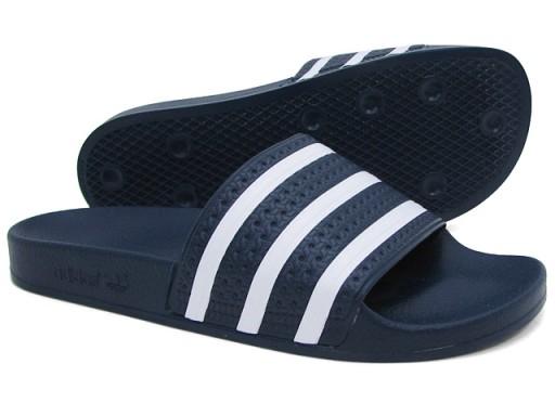 dobra sprzedaż nowy produkt sprzedaż hurtowa klapki męskie adidas Adilette r 10/44,5 288022