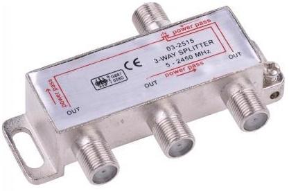 ROZDZIELACZ rozgałęźnik splitter SYGNAŁU DVB-T 3TV