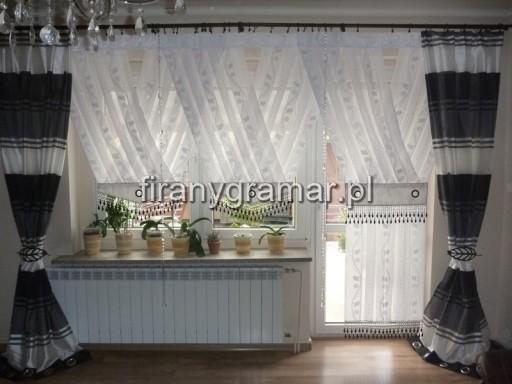 Firany Panele V Do Salonu 350 Cm Karnisz