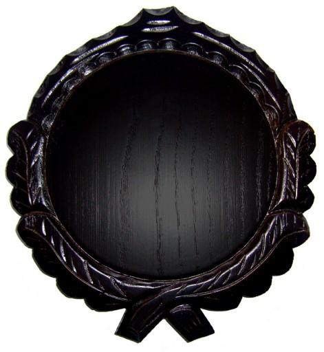 Rzeźbiona deska pod oręż dzika - DĄB 16cm (c)