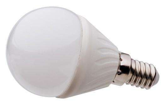 Ogromnie Żarówka LED E14 SMD 2835 CIEPŁA 540lm 6W 60W KULKA 6373577153 NR89