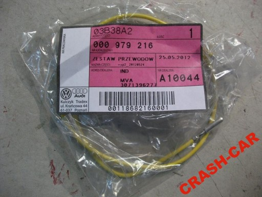 VW AUDI FIBER CABLE CABLE NEW 000979216
