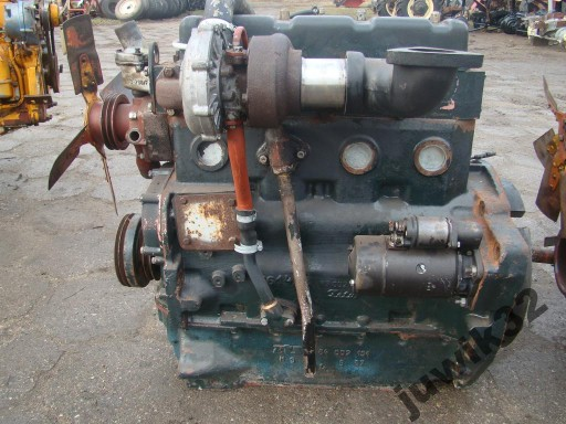 Ursus Zetor Silnik 4 Cylindrowy Turbo Gniezno Allegro Pl
