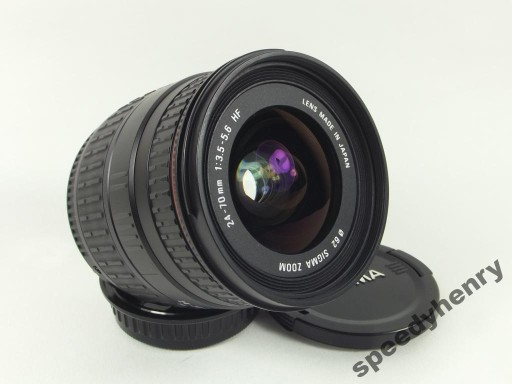 SIGMA 24-70MM 1:3,5-5,6 HF ASPHERICAL