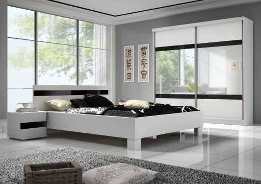 łóżko Szafa Stolik Meble Do Sypialnia Maxi 183