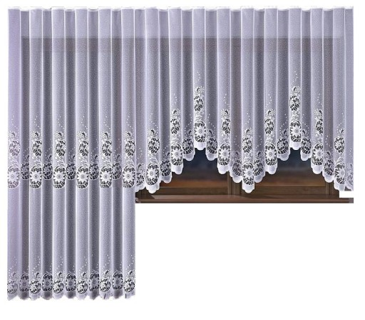 Aida Ii Firana żakardowa 150x240cm Balkon