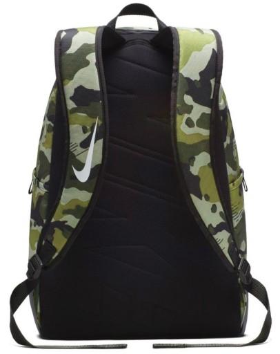 fa7b7f8e11557 Plecak NIKE szkolny MORO wojskowy do szkoły DUŻY Kolor Czerń Odcienie  zieleni Wielokolorowy