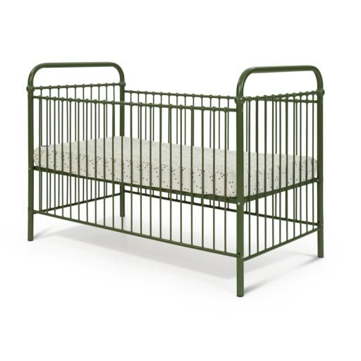 Łóżeczko dziecięce szare metalowe 70x140 Producent