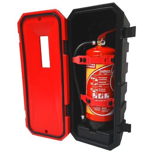 BOX PROTECTIVE CONTAINER na FIRE FIGHTING 6 kg ADR TIR