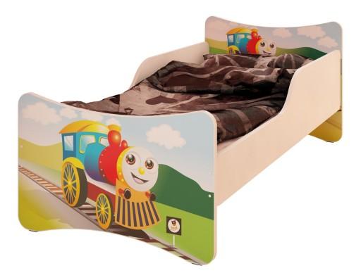 łóżko Lozeczko Dla Dzieci Stelażmaterac 70x140