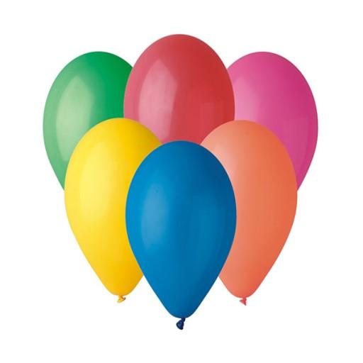 Balony Okragle Roznokolorowe 10 X27 X27 100szt 7558289783 Allegro Pl
