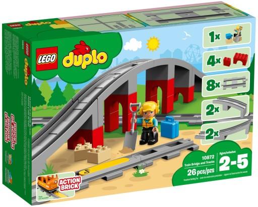 Lego Duplo Tory Kolejowe I Wiadukt 10872 7325420445 Allegropl