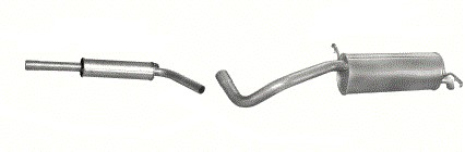 DUSLINTUVAI / ISMETIMO VAMZDIS KOMPLEKTAS SKODA FABIA 1,9diesel hb. 1999M-2003M.