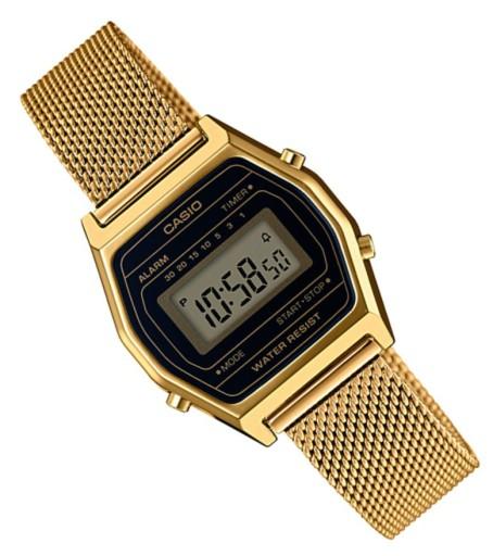 Sportowy zegarek damski Casio LA690WEMY 1EF RETRO