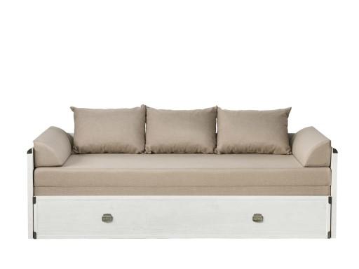 łóżko Rozkładane 160x80 Indiana Loz80160 Brw