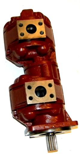 SIURBLYS (POMPA) PAGRINDINE DVIGUBA K-606 K-611 HIDRAULINE