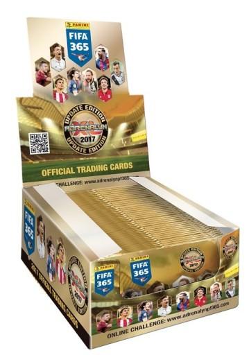 Karty Fifa 365 2017 Box 50 Saszetek Update Edition 7494036994 Allegro Pl