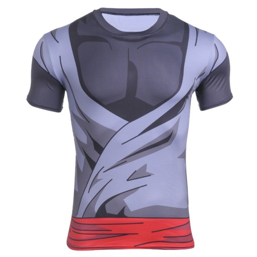 Dragon Ball Rashguard Termoaktywna Goku Black 7491487376 Allegro Pl