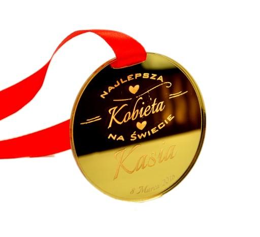 Medal z Imieniem na Dzień Kobiet Prezent Grawer
