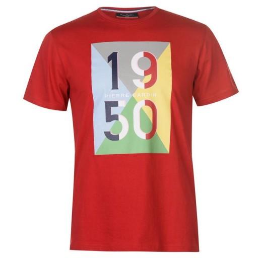 Pierre Cardin , rozmiar L 7772311701 Odzież Męska T-shirty VJ QZZIVJ-1