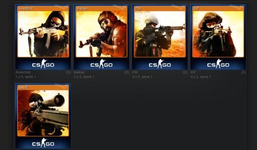 Karty Kolekcjonerskie Counter Strike Cs Go 1 49 Zl 7637194065 Allegro Pl