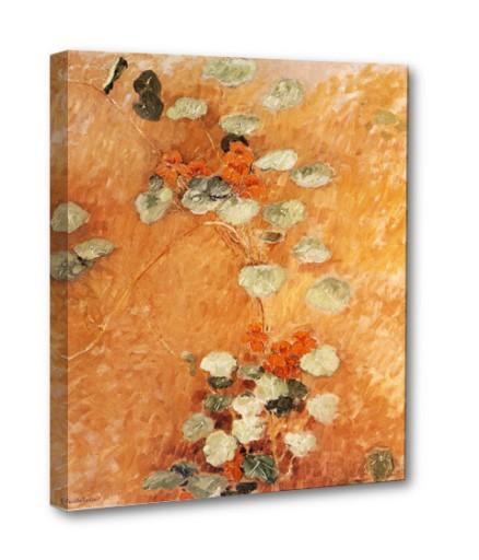 Nasturcje, Gustave Caillebotte