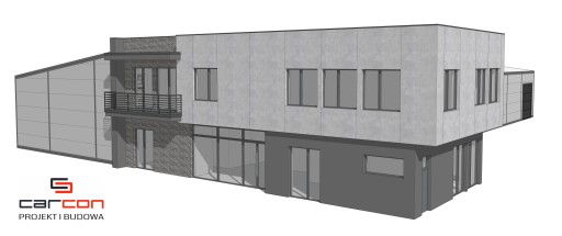 Projekt i budowa Hala stalowa + Biuro