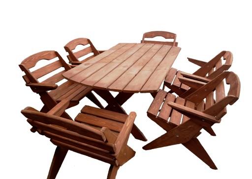 Promocja Skladane Meble Ogrodowe Drewniane 7457268504 Allegro Pl