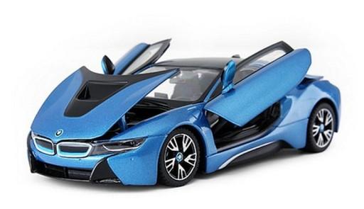 Bmw I8 1 24 Blue Metallic Rastar 56500 Poznan 8585455103 Allegro Pl
