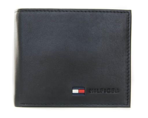 877a71ff5f70e Portfel skórzany TOMMY HILFIGER kieszeń na monety 7613598550 - Allegro.pl
