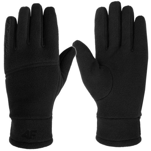 4F Rękawiczki zimowe Z18 REU004 POLAROWE CIEPŁE M