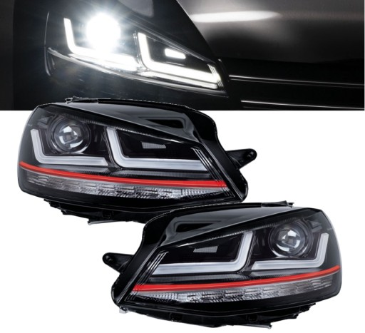 Reflektory Golf 7 Osram Hella Full Led Gti Gt R Wroclaw Allegro Pl