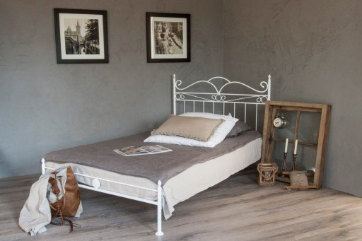 łóżko Metalowe Fantazja 140 Nfront Kute