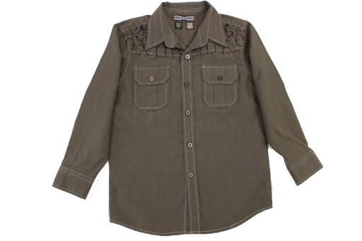 Koszula z haftem ONE GO ONE r 116 (L1074)